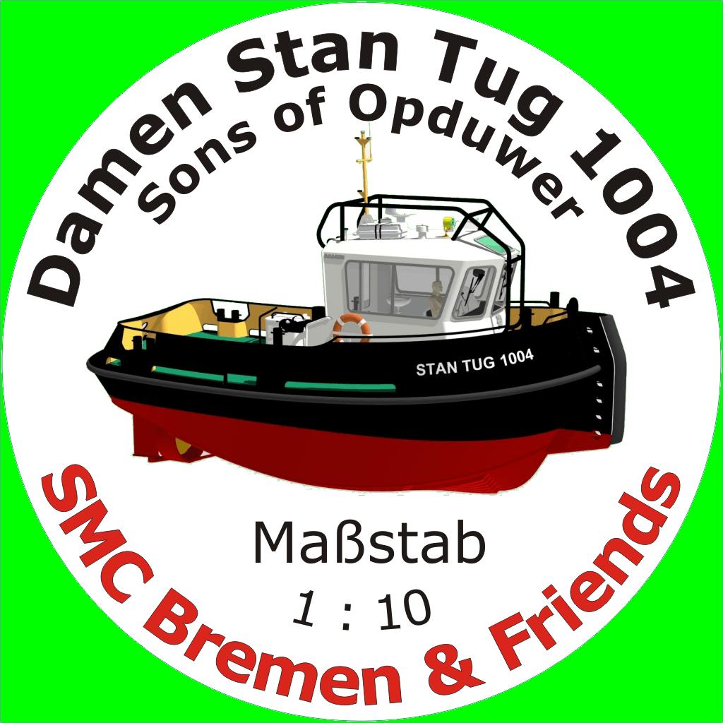 Stan Tug 1004 SMC Bau Logo